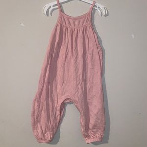 Old Navy Pink Pants Romper size 6-12 months